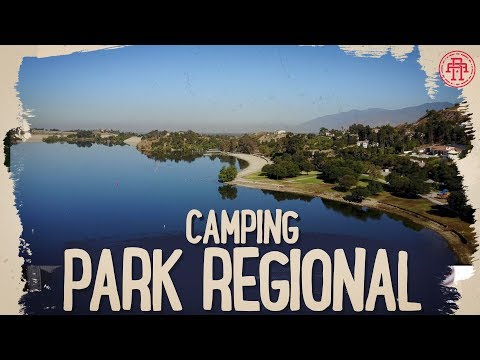 CAMPING LINDO + PARQUE REGIONAL EM SAN DIMAS CA