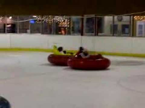 Birthday Bumper Cars Party on Ice