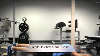 Exercise Index: Anti-Extension Test