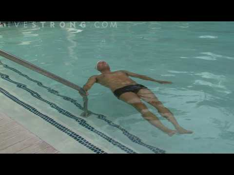 Floating - Floating is a swimming skill needed in a survival situation. Floating can be done on the back or front. Get expert tips and advice in this swimming video.