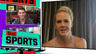 Holly Holm -- Stop Trashing Ronda Rousey ... She's a Legend | TMZ Sports