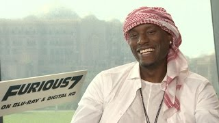 Nonton Tyrese Talks    Furious 7     Improvising  Paul Walker And More In Abu Dhabi Film Subtitle Indonesia Streaming Movie Download