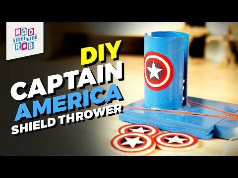 How to make Captain America Shield Thrower