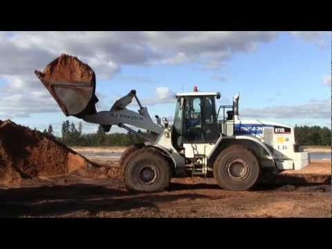 Cat 972g Loading Bell And Volvo Dumpers