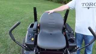 6. Toro Titan ZX Series Zero Turn Mower Review