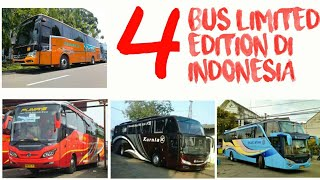 "Video INI DIA!! 4 BUS ""LANGKA"" DAN ""LIMITED EDITION"" DI INDONESIA! MP3, 3GP, MP4, WEBM, AVI, FLV Mei 2019"