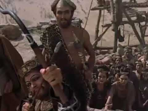 The Bible: in the beginning - King Nimrod anger scene (No substitles)