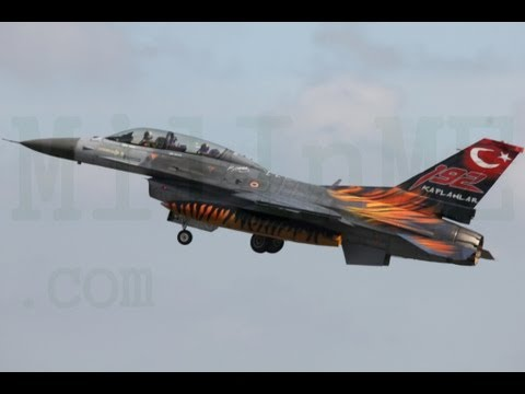 Turkish power Air Forces F16 Block...