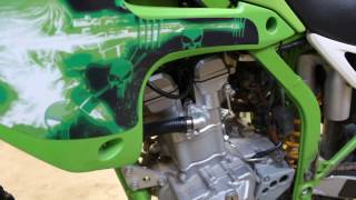 6. DIY Kawasaki KLX300R How to change Spark Plug - KLX300 KLX 300R KLX 300 R
