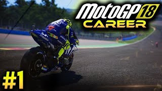 Video MotoGP 18 Career Mode Gameplay Part 1 - RED BULL ROOKIES CUP 2018 (MotoGP 2018 Game Career Mode PS4) MP3, 3GP, MP4, WEBM, AVI, FLV September 2018