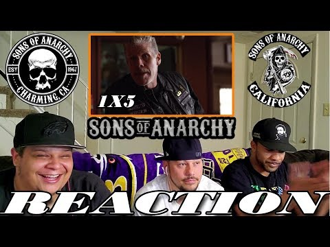 """SONS OF ANARCHY SEASON 1 EPISODE 5 REACTION """"GIVING BACK"""""""