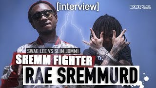 RAE SREMMURD - L'interview clash Swae VS Jimmi : leurs tattoos, leurs blings, leur flow, les selfies
