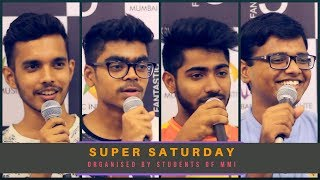 SUPER SATURDAY 5th May - 2018 | Jugalbandi Night | MMI