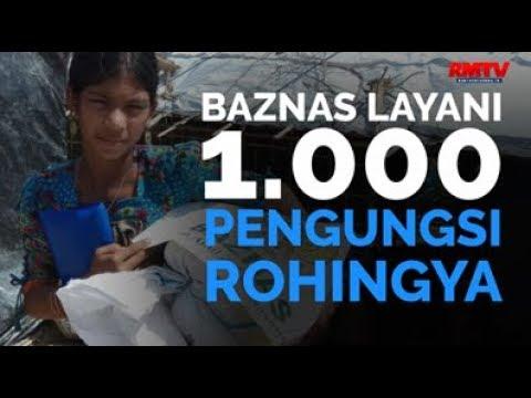 BAZNAS Layani 1.000 Pengungsi Rohingya