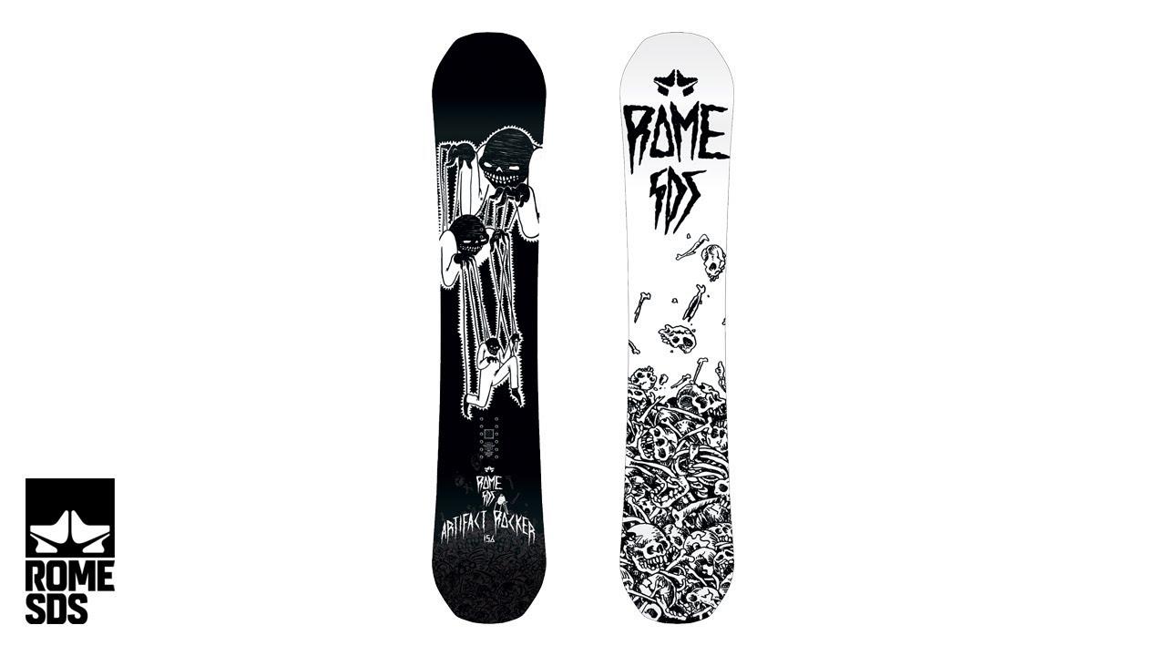 Rome artifact rocker snowboard rome snowboard design syndicate 2018 video geenschuldenfo Gallery