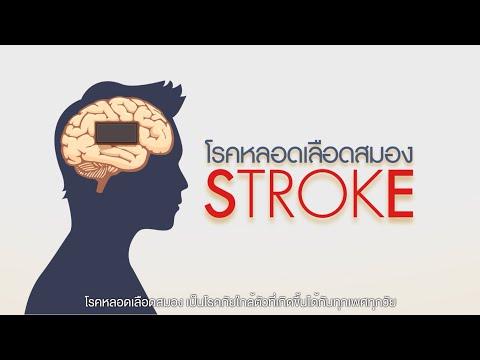 thaihealth โรคหลอดเลือดสมอง STROKE