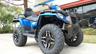 4. 2015 Polaris Sportsman 570 SP Touring Edition