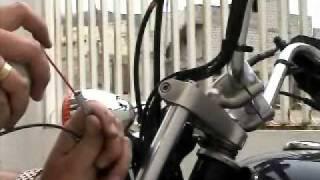 9. Mantenimiento de moto (Parte 7) Cambio del cable del velocímetro