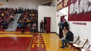 Usher's Surprise Visit to Tyner Academy 02/27/17