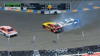 Monster Energy NASCAR Cup Series 2017. Sonoma Raceway. Dale Earnhardt Jr. Crash