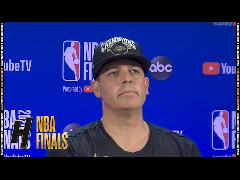 Frank Vogel Postgame Interview - Game 6 | Heat vs Lakers | October 11, 2020 NBA Finals