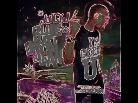 Juicy J - Countin' Faces [Chopped n Screwed] [ Blue Dream & Lean Mixtape ]