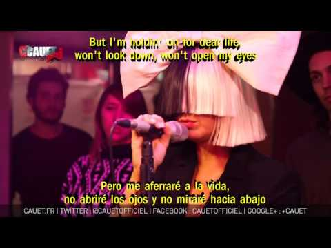 Sia Chandelier Subtitulada En Español Lyrics Live Mp3