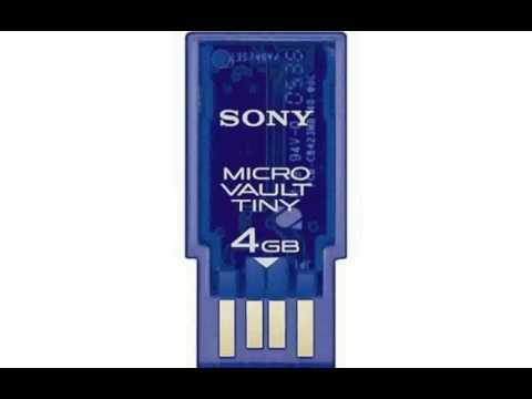 Sony Micro Vault Tiny (Pocket Bit Mini) - Info and Specs