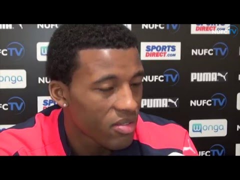 Video: Georginio Wijnaldum looks ahead to Newcastle's game at Everton