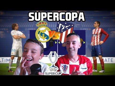 SUPERCOPA DE EUROPA REAL MADRID VS ATLETICO DE MADRID