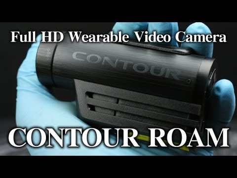 CONTOUR ROAM 動画レビュー Full HD 1080p Wearable Camera Review