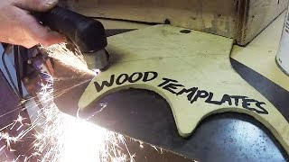 If you own a plasma cutter or are thinking of purchasing one, this video is for you! Using wood templates with your plasma cutter is a cost effective and simple was to make accurate and repeatable cuts without an expensive CNC machine.