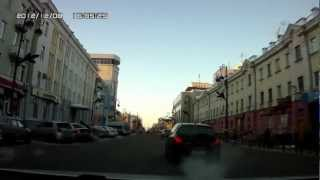 Tyumen Russia  City new picture : Driving in Tyumen, (West Siberia, Russia)