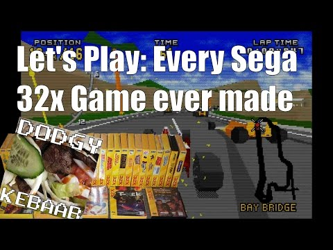 Let's play Every Sega 32x Game ever made