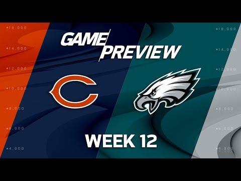 Video: Chicago Bears vs. Philadelphia Eagles | NFL Week 12 Game Preview | NFL Playbook