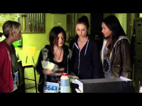 Pretty Little Liars - 3x14 - The girls read Ali's diary + get caught by Harold
