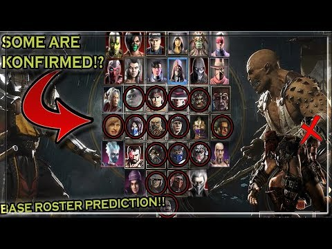 Mortal Kombat 11 - FULL Roster Prediction! + Characters You May Have Missed?