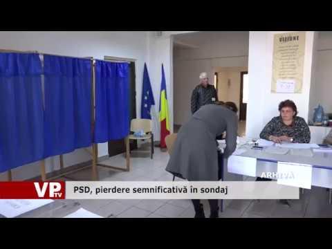 PSD, pierdere semnificativă în sondaj
