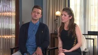 Justin Timberlake talks about Anna Kendrick's singing