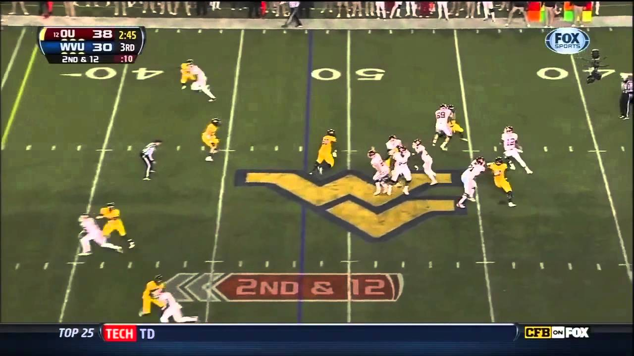 Lane Johnson vs West Virginia (2012)