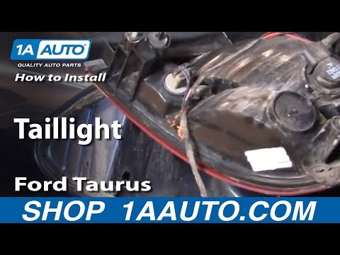 How To Install Replace Taillight Ford Taurus 00-03 1AAuto.com
