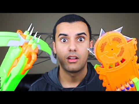 Video MOST DANGEROUS TOY OF ALL TIME 2.0!! (EXTREME NERF GUN / ZING BOW EDITION!!) FIRE CHALLENGE!! download in MP3, 3GP, MP4, WEBM, AVI, FLV January 2017