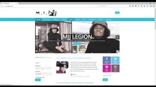 How To Add/Update Your Story: MJJ LEGION COM
