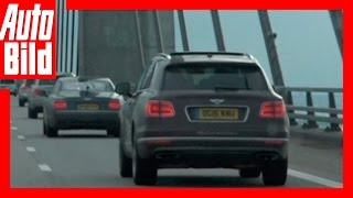 Video: Bentley Bentayga - Tour Etappe 6 - Videotagebuch /Test / Drive / Review by Auto Bild