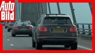 Video: Bentley Bentayga - Tour Etappe 6 - Videotagebuch /Test / Drive / Review by Auto Bild