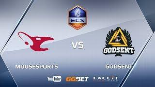 mousesports vs GODSENT, ECS Season 5 Europe