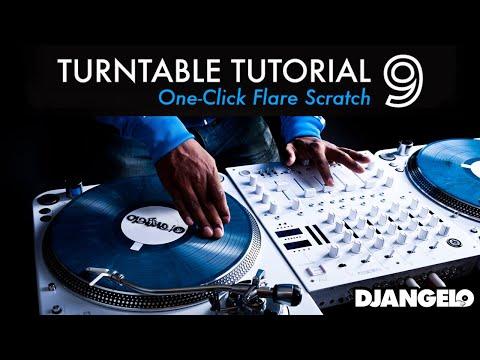 Turntable Tutorial 9 -  ONE CLICK FLARE ORBIT (Mixer Scratch Technique)