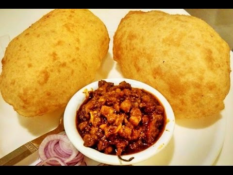 Chole Bhature (Bhatura recipe with quick Chole Masala)