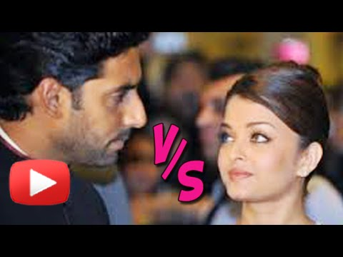 Abhishek Bachchan - Abhishek Bachchan & Aishwarya Rai Bachchan are often referred to as the Angelina Jolie & Brad Pitt of Bollywood. But now there seems to be a clash between them. Watch and find out the real...