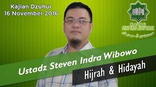 Video Hijrah & Hidayah oleh Ustadz Steven Indra Wibowo MP3, 3GP, MP4, WEBM, AVI, FLV Desember 2018